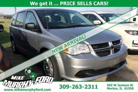 2013 Dodge Grand Caravan for sale at Mike Murphy Ford in Morton IL