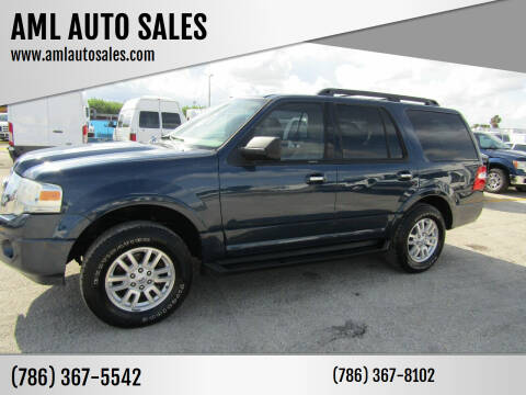 2013 Ford Expedition for sale at AML AUTO SALES - Sedans/SUV's in Opa-Locka FL