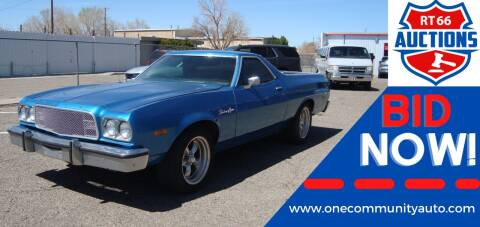 1973 Ford Ranchero for sale at One Community Auto LLC in Albuquerque NM