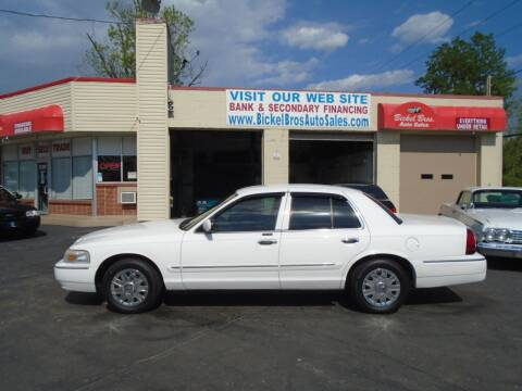 2007 Mercury Grand Marquis for sale at Bickel Bros Auto Sales, Inc in Louisville KY
