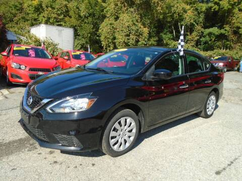 2016 Nissan Sentra for sale at Taunton Auto & Truck Sales in Taunton MA