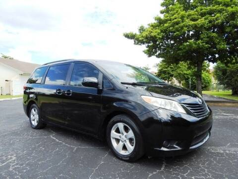 2012 Toyota Sienna for sale at SUPER DEAL MOTORS 441 in Hollywood FL