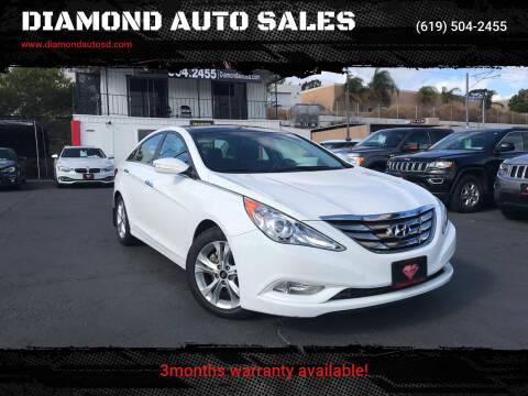 2013 Hyundai Sonata for sale at DIAMOND AUTO SALES in El Cajon CA