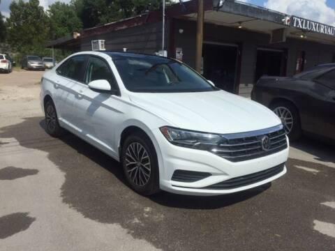 2019 Volkswagen Jetta for sale at Texas Luxury Auto in Houston TX