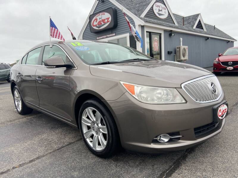 2012 Buick LaCrosse for sale at Cape Cod Carz in Hyannis MA