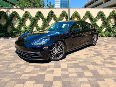 2018 Porsche Panamera for sale at ROGERS MOTORCARS in Houston TX