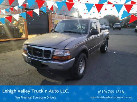 2003 Ford Ranger for sale at Lehigh Valley Truck n Auto LLC. in Schnecksville PA