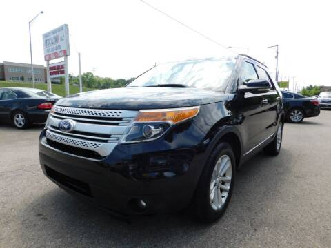 2012 Ford Explorer for sale at AutoLink LLC in Dayton OH