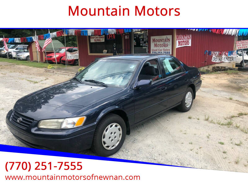 1998 Toyota Camry for sale at Mountain Motors in Newnan GA
