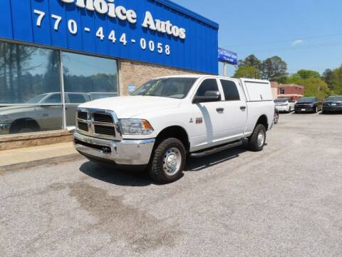 2012 RAM Ram Pickup 2500 for sale at 1st Choice Autos in Smyrna GA
