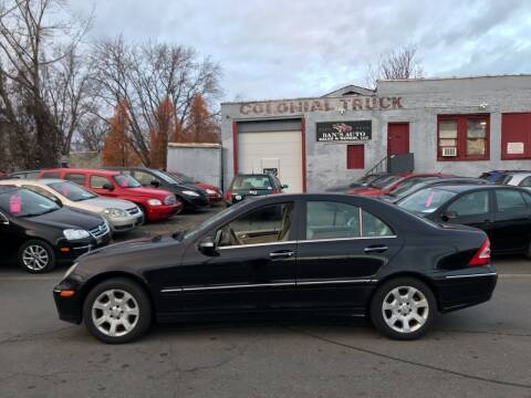2005 Mercedes-Benz C-Class for sale at Dan's Auto Sales and Repair LLC in East Hartford CT