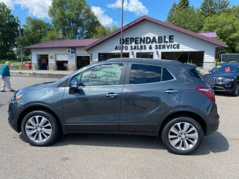 2017 Buick Encore for sale at Dependable Auto Sales and Service in Binghamton NY
