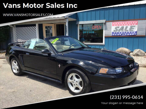 2002 Ford Mustang for sale at Vans Motor Sales Inc in Traverse City MI