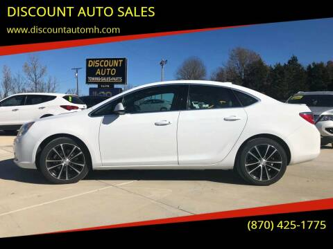 2017 Buick Verano for sale at DISCOUNT AUTO SALES in Mountain Home AR