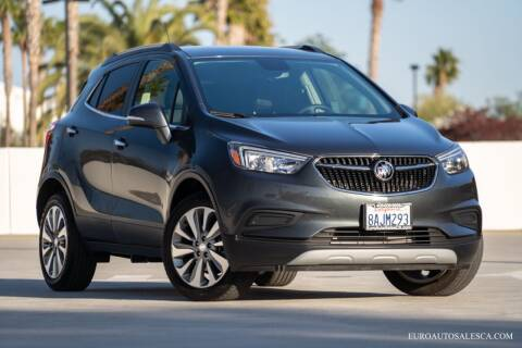 2017 Buick Encore for sale at Euro Auto Sales in Santa Clara CA