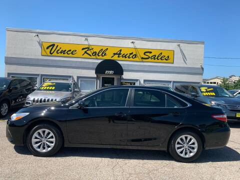 2017 Toyota Camry for sale at Vince Kolb Auto Sales in Lake Ozark MO