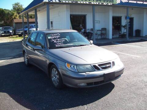 2003 Saab 9-5 for sale at LONGSTREET AUTO in St Augustine FL