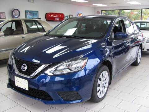 2017 Nissan Sentra for sale at Kens Auto Sales in Holyoke MA