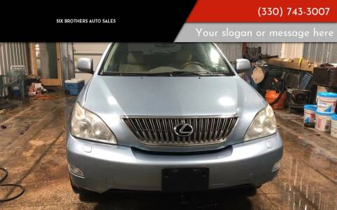 2007 Lexus RX 350 for sale at Six Brothers Auto Sales in Youngstown OH