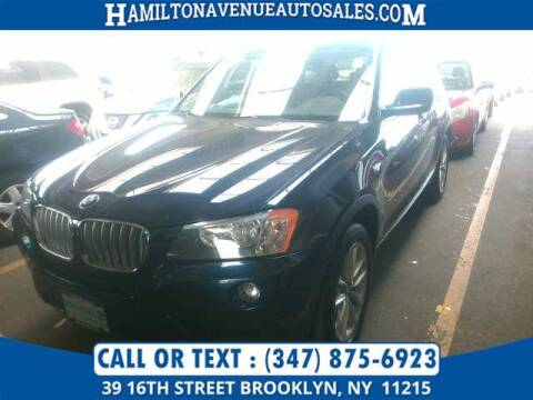 2013 BMW X3 for sale at Hamilton Avenue Auto Sales in Brooklyn NY