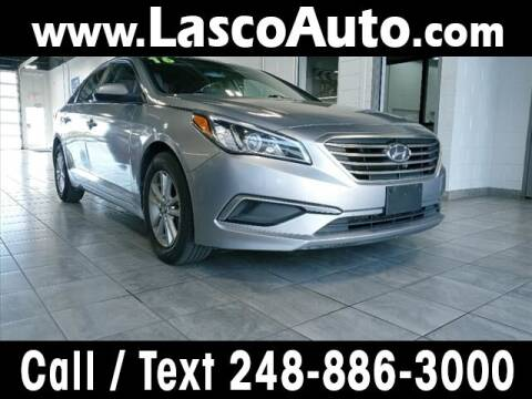 2016 Hyundai Sonata for sale at Lasco of Waterford in Waterford MI