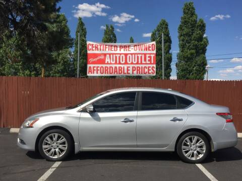 2015 Nissan Sentra for sale at Flagstaff Auto Outlet in Flagstaff AZ