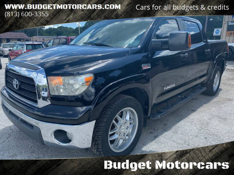 2008 Toyota Tundra for sale at Budget Motorcars in Tampa FL