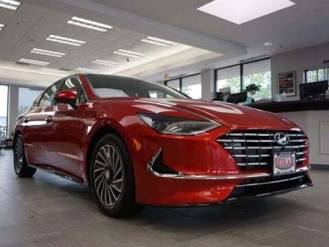 2022 Hyundai Sonata Hybrid for sale at Mirak Hyundai in Arlington MA