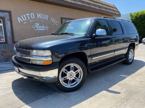 2004 Chevrolet Suburban for sale at Auto Hub, Inc. in Anaheim CA