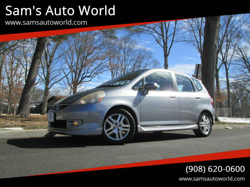2008 Honda Fit for sale at Sam's Auto World in Roselle NJ
