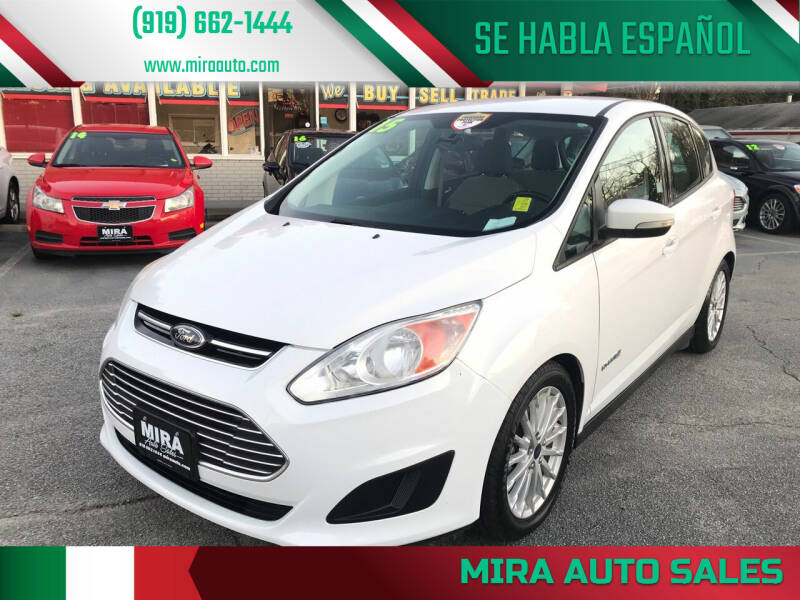 2015 Ford C-MAX Hybrid for sale at Mira Auto Sales in Raleigh NC