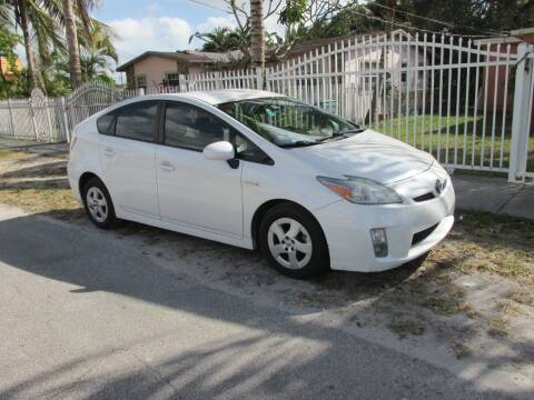 2011 Toyota Prius for sale at TROPICAL MOTOR CARS INC in Miami FL