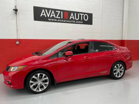 2012 Honda Civic for sale at AVAZI AUTO GROUP LLC in Gaithersburg MD