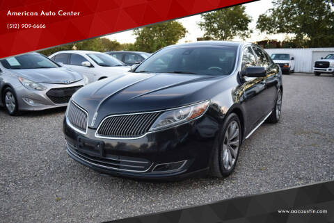2013 Lincoln MKS for sale at American Auto Center in Austin TX