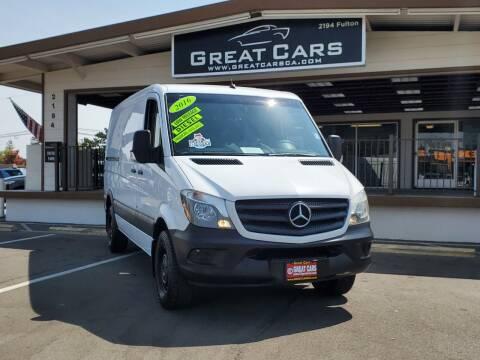 2016 Mercedes-Benz Sprinter Cargo for sale at Great Cars in Sacramento CA