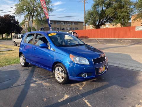 2009 Chevrolet Aveo for sale at RON'S AUTO SALES INC in Cicero IL