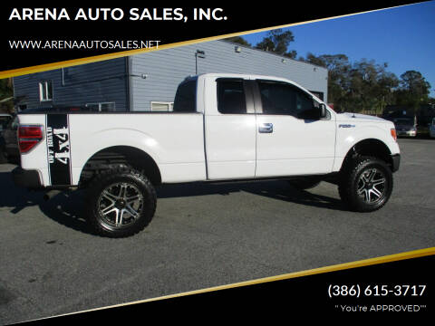 2011 Ford F-150 for sale at ARENA AUTO SALES,  INC. in Holly Hill FL