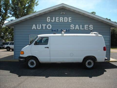 2000 Dodge Ram Van for sale at GJERDE AUTO SALES in Detroit Lakes MN