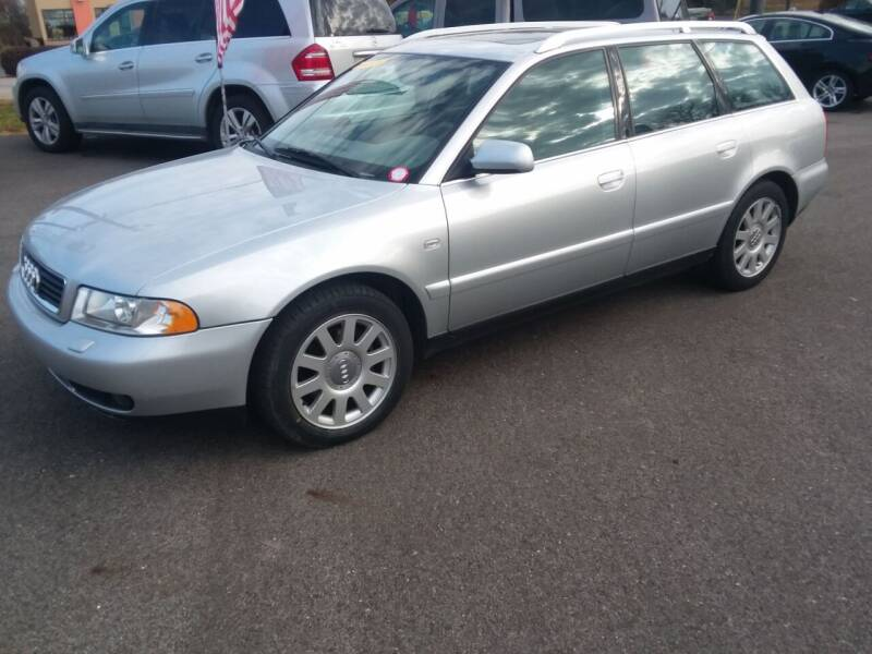 2001 Audi A4 for sale at NJ Quality Auto Sales LLC in Richmond IL