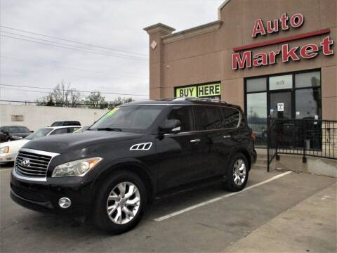 2013 Infiniti QX56 for sale at Auto Market in Oklahoma City OK