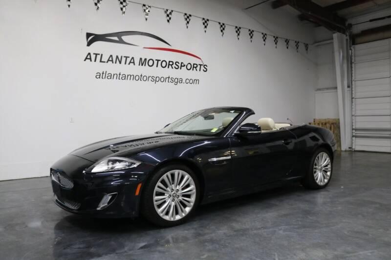 2012 Jaguar XK for sale at Atlanta Motorsports in Roswell GA