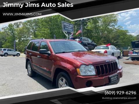 2006 Jeep Grand Cherokee for sale at Jimmy Jims Auto Sales in Tabernacle NJ