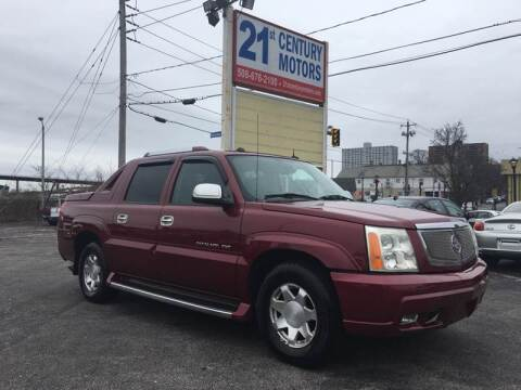 2004 Cadillac Escalade EXT for sale at 21st Century Motors in Fall River MA