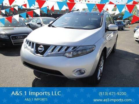 2009 Nissan Murano for sale at A&S 1 Imports LLC in Cincinnati OH