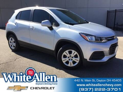 2018 Chevrolet Trax for sale at WHITE-ALLEN CHEVROLET in Dayton OH