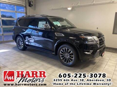 2022 Nissan Armada for sale at Harr's Redfield Ford in Redfield SD