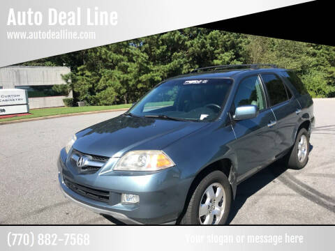 2006 Acura MDX for sale at Auto Deal Line in Alpharetta GA