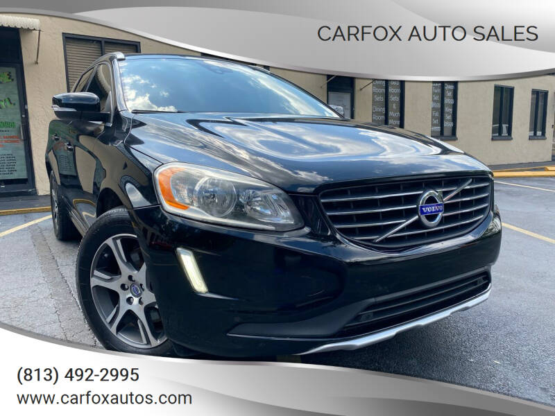 2015 Volvo XC60 for sale at Carfox Auto Sales in Tampa FL