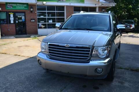 2008 Chrysler Aspen for sale at RODRIGUEZ MOTORS LLC in Fredericksburg VA