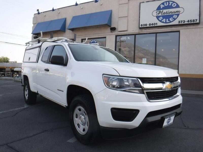 2015 Chevrolet Colorado for sale at Platinum Auto Sales in Provo UT